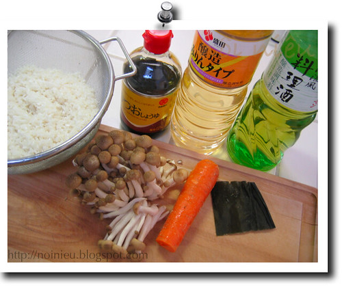 Japanese style mixed rice method1
