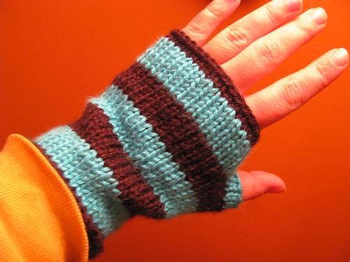 fingerless mitts for martin