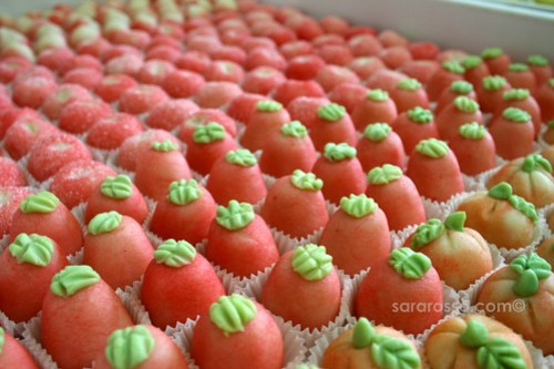 The Marzipan fruit army