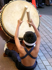 Drumming boy by tanakawho, on Flickr