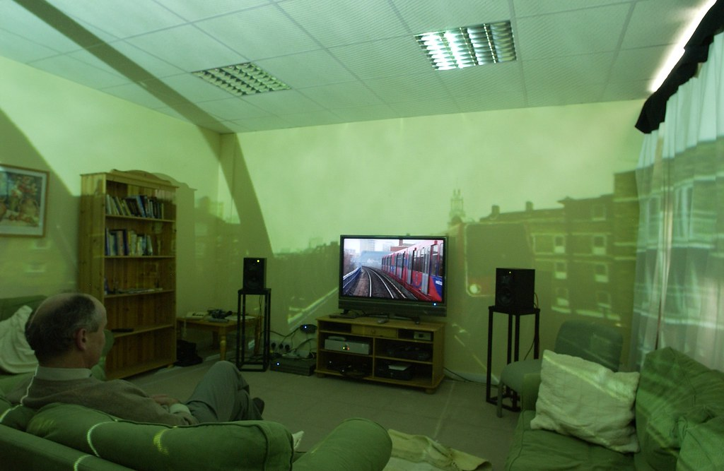 Surround TV in action | Image: BBC Internet Blog