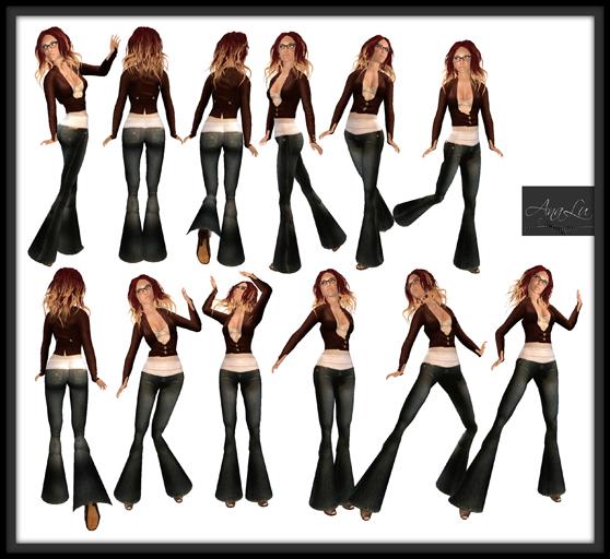 -AnaLu- *fresh poses* (25-36)