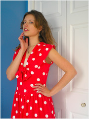 04.09.08 {the polka dot frock | five}