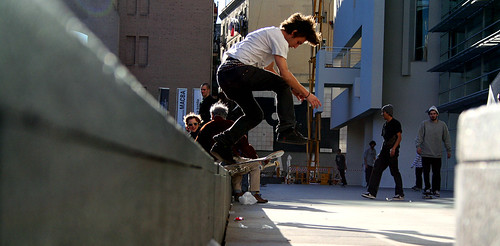 Skate MACBA por dylanwinkler.
