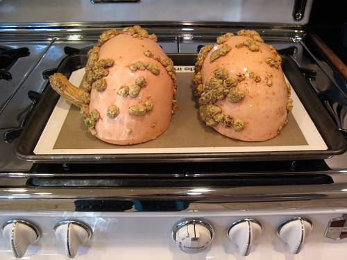 Novella's pumpkin, pre-roasting