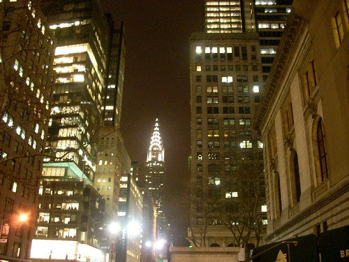 Shines like the top of the Chrystler building