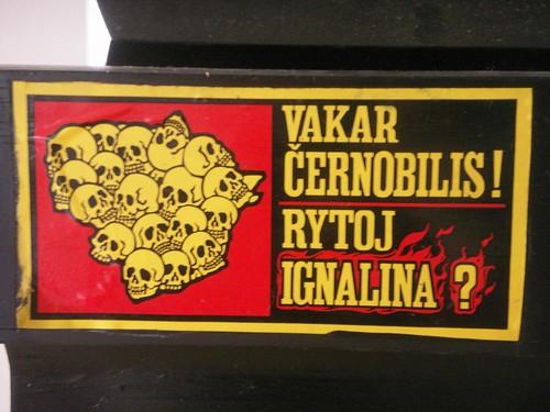 Vakar Černobilis, Rytoj Ignalina??