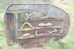 Trawl Door Sculpture, Huntcliff