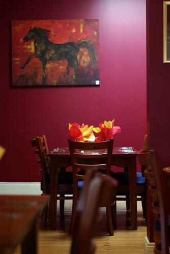 La Marina restaurant, Shellharbour: I love the Spanish decor