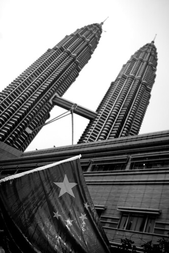 The China Flag in KLCC