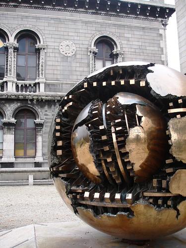 Statue at Trinity College