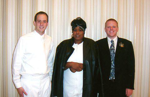 Michelle Clowney's Baptism 11/11/07