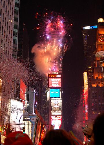 00:00, 2008, Time Square
