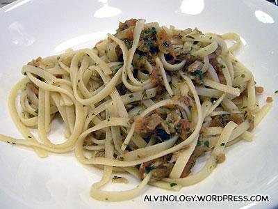 My fishy pasta
