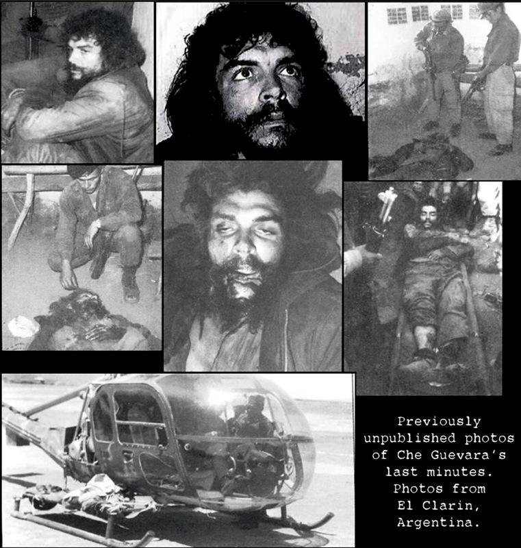 Ernesto Che Guevara sus ultimos momentos