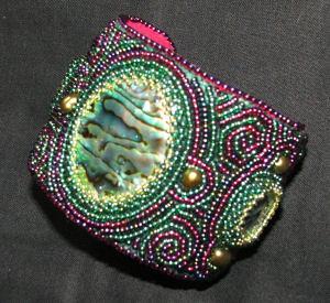 Paua Shell Cuff Bracelet