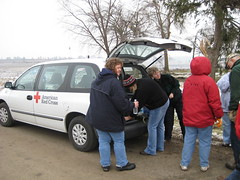 Volunteers doing canteen service - boone county il