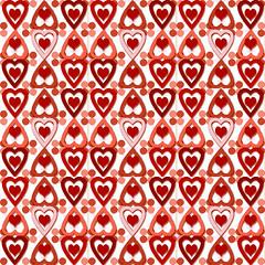 Valentine Heart Pattern #1B