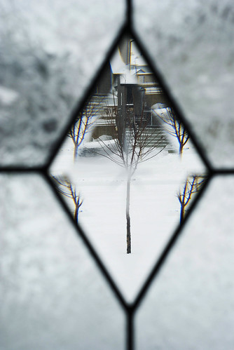 through diamond window