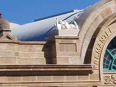 Restored facade Fremantle Station 2005