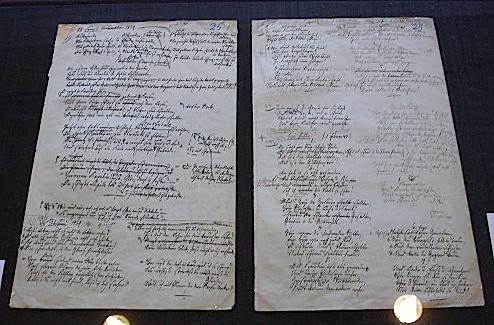 Eichendorff Manuskript