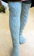 Wintery stockings