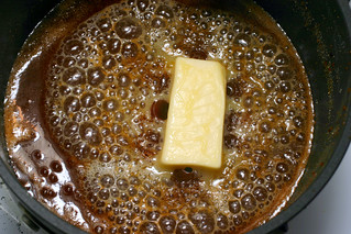 making salted butter caramel