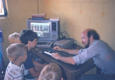 1985 MIDI Demonstration with Commodore64