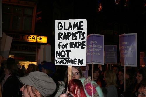 Blame rapists for rape, not women