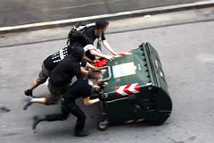 Barricate. Fotografia di Gianluca Platania, tutti i diritti riservati.