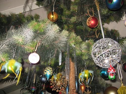 Weihnachtsbaum bei Anne und Pat