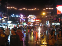 64. Bangla Road, the center of nightlife in Patong, Phuket