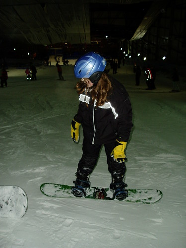 Kat on the slopes