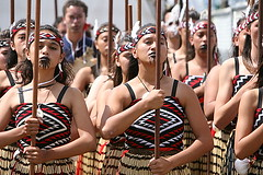 ASB Polyfest 2008 Ruderford High Maori Group