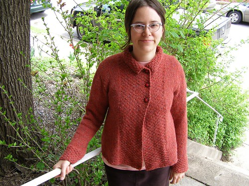 tweedy alpaca jacket