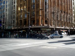 The artichoke end of the world  (Corner of Swanston and Collins St, taken 11 July 2008)