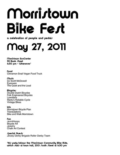 Morristown Bike Fest by kendra e