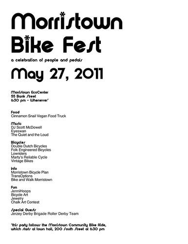 Morristown Bike Fest by kendra e