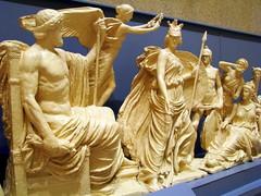 Parthenon detail replica