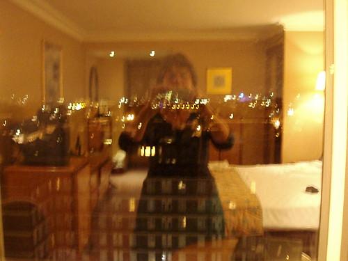 Kamer, me en uitzicht