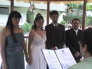 Matrimonio de Herbert y Lorena