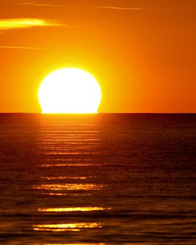 Liquid Light....Molten Sun by Ken Blackwell.