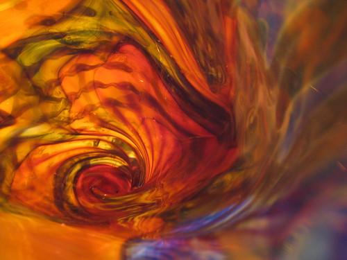 Conch Shell Glass Art