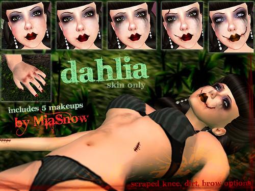 Dahlia Skin by miaSnow