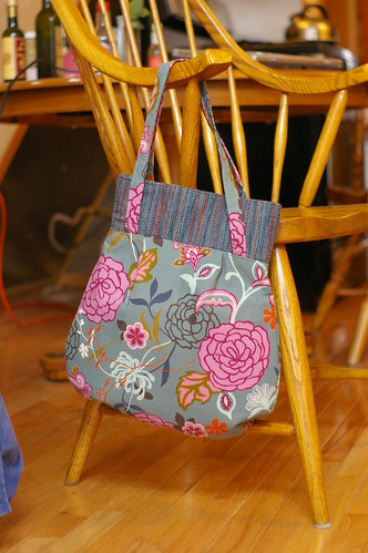 my new knitting bag