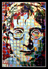 John Lennon Hand Painted by my boss Ryan Oyer