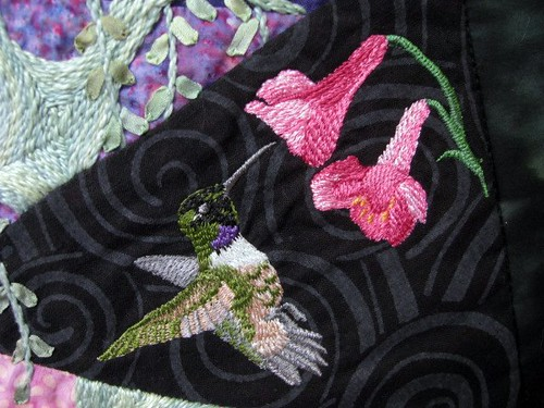 Growing in My Garden, May 2011 Gallery Exhibit @Quiltworks