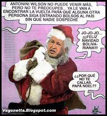 Chavez Papa Noel