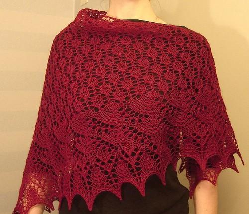 Swallowtail shawl2