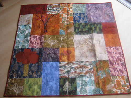 Gorgeous Tree Quilt from Katy for my 40th